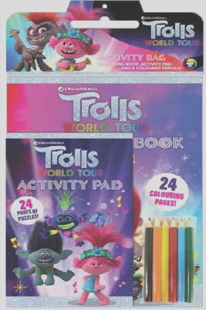 Trolls World Tour Activity Bag