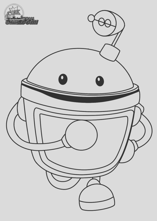 team umizoomo coloring pages printable