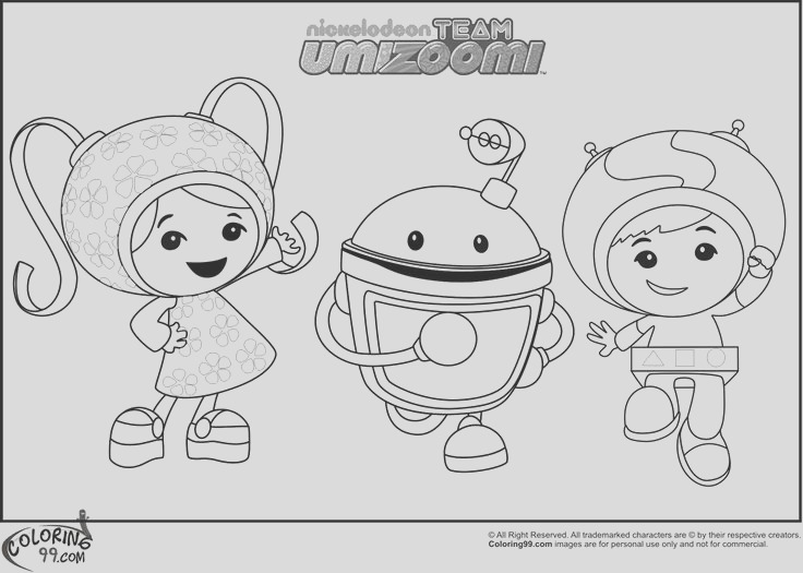 animation coloring pages