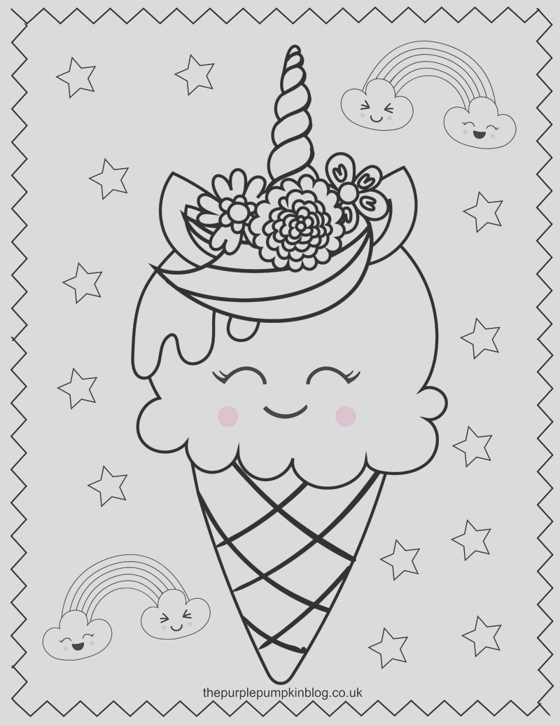 free unicorn coloring pages printable