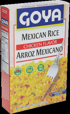 chicken flavored yellow rice