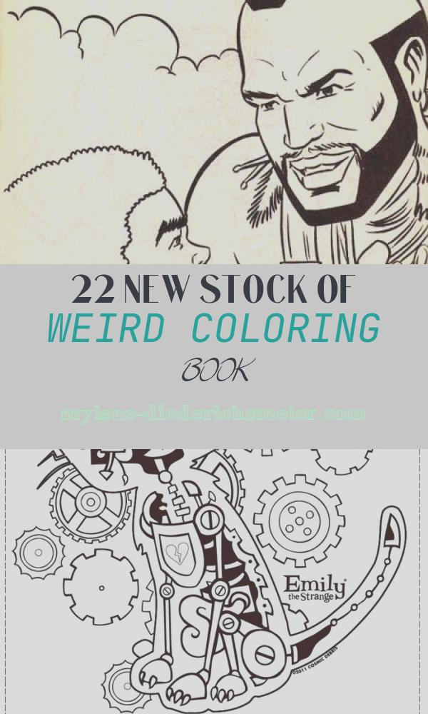 Weird Coloring Book Awesome Crayola Horrors A Look at some Odd and Unsettling Vintage