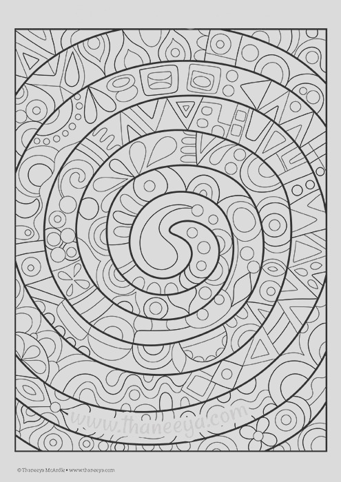 fun and funky coloring book