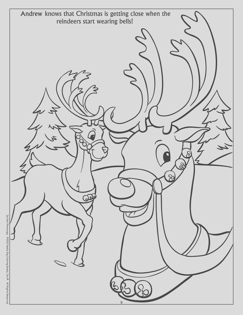personalized winter fun coloring books