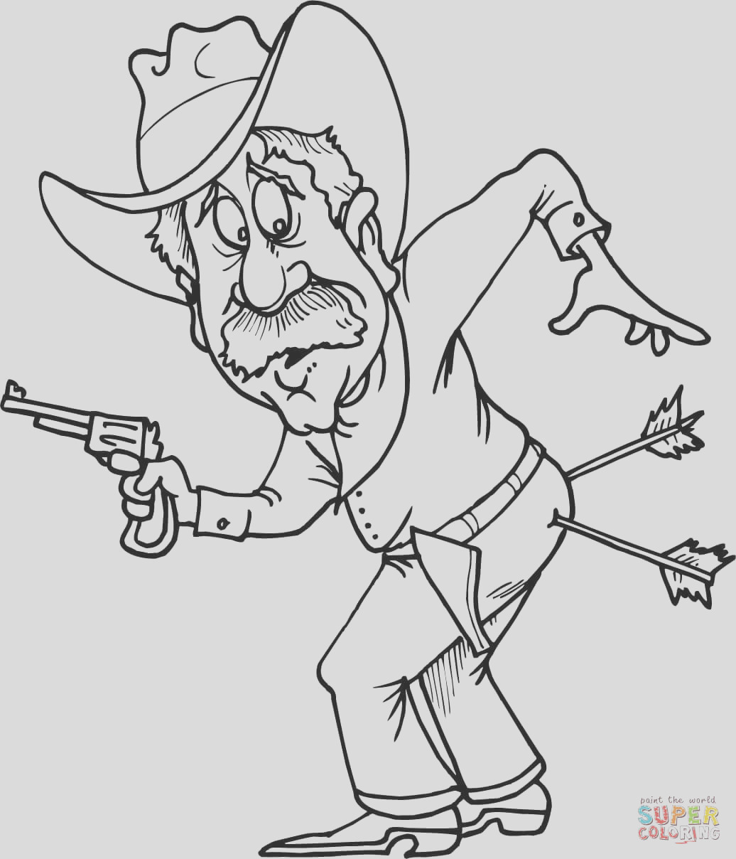 western cowboy coloring pages