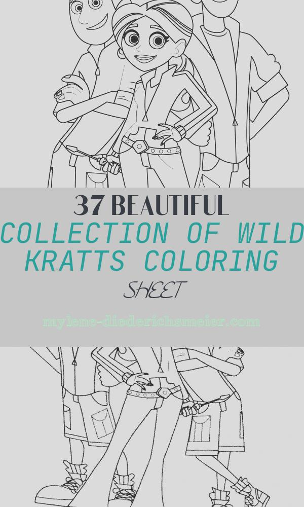 Wild Kratts Coloring Sheet Inspirational Wild Kratts Coloring Pages Free Printable
