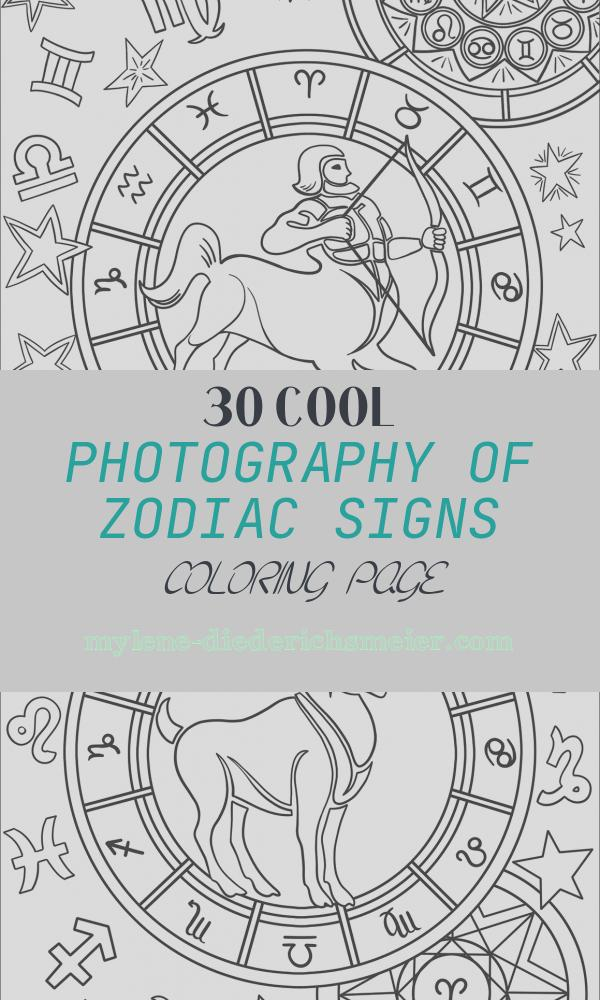 Zodiac Signs Coloring Page Best Of Sagittarius Zodiac Sign Coloring Page