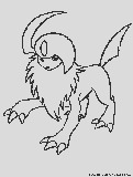 dark pokemon coloring pages2