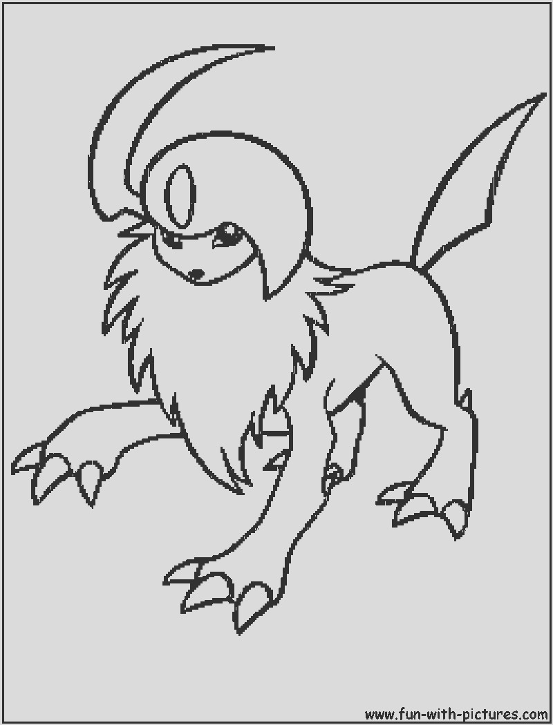 mega absol pages sketch templates