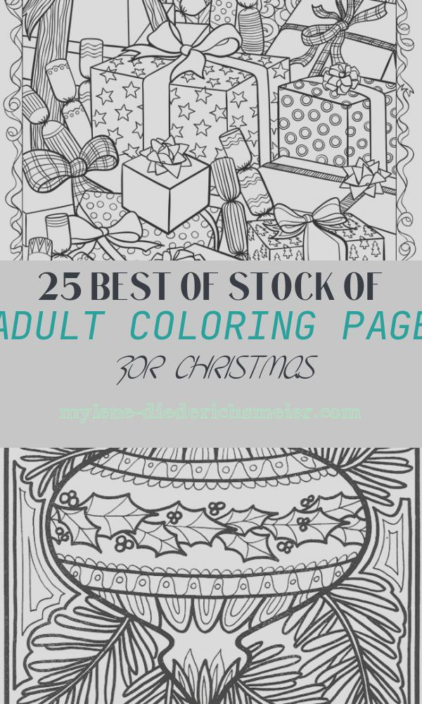 Adult Coloring Page for Christmas New 21 Christmas Printable Coloring Pages
