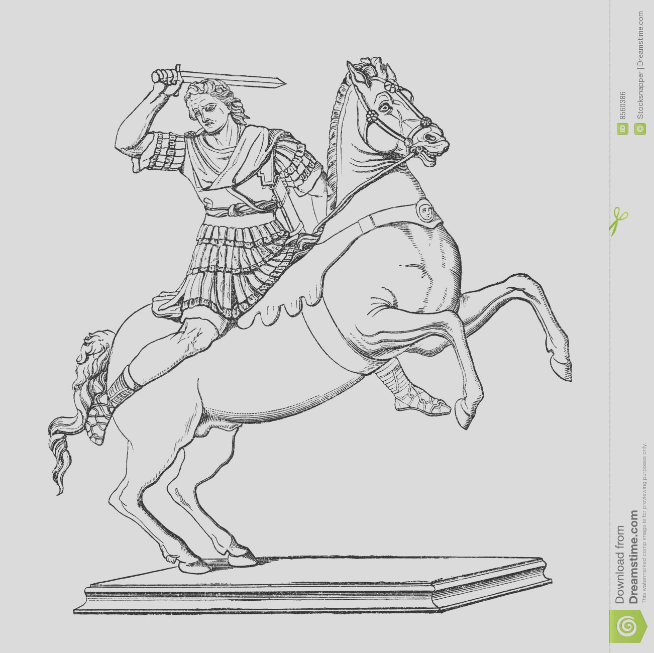 royalty free stock image alexander great image