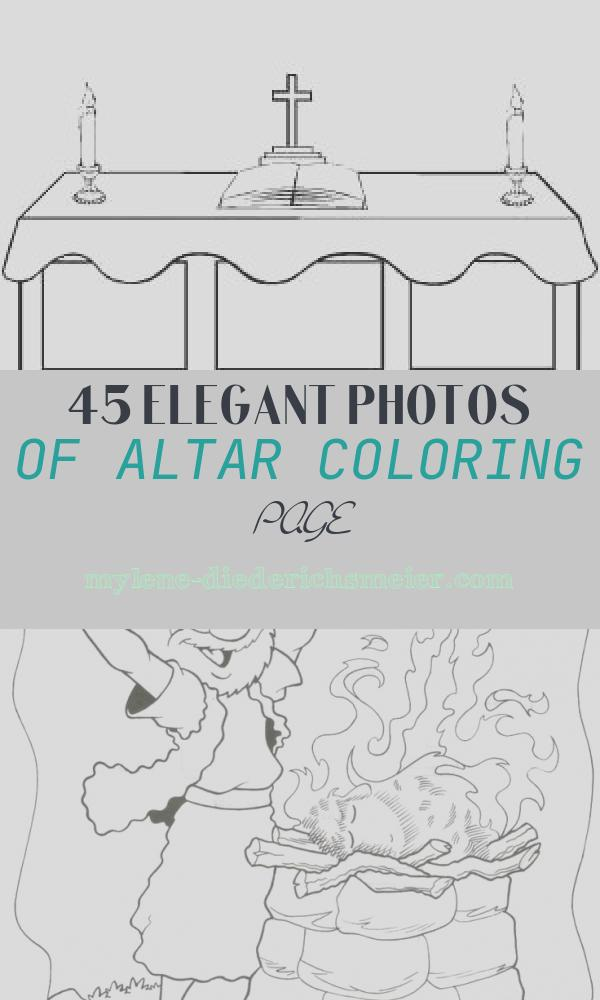 Altar Coloring Page Best Of Altar Coloring Page