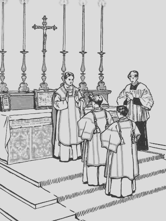 catholic church altar coloring page sketch templates