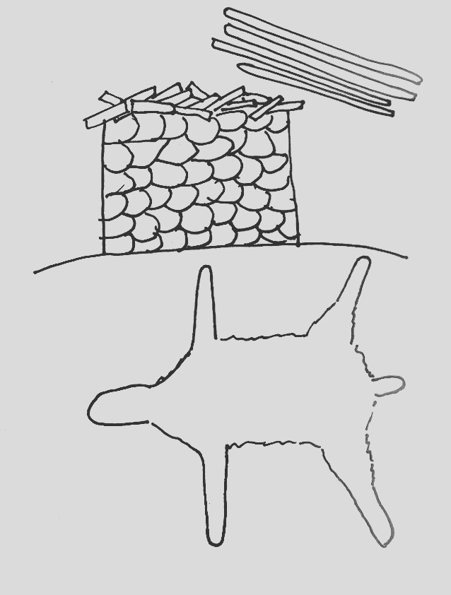 bible story coloring page for gideon tears down the altar and puts out a fleece
