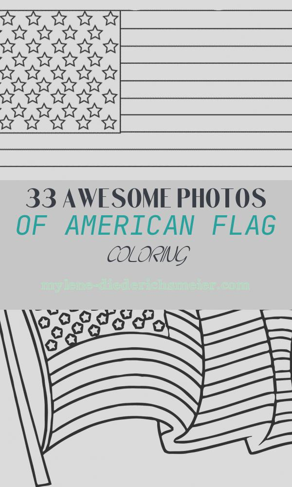 American Flag Coloring Beautiful American Flag Coloring Page for the Love Of the Country