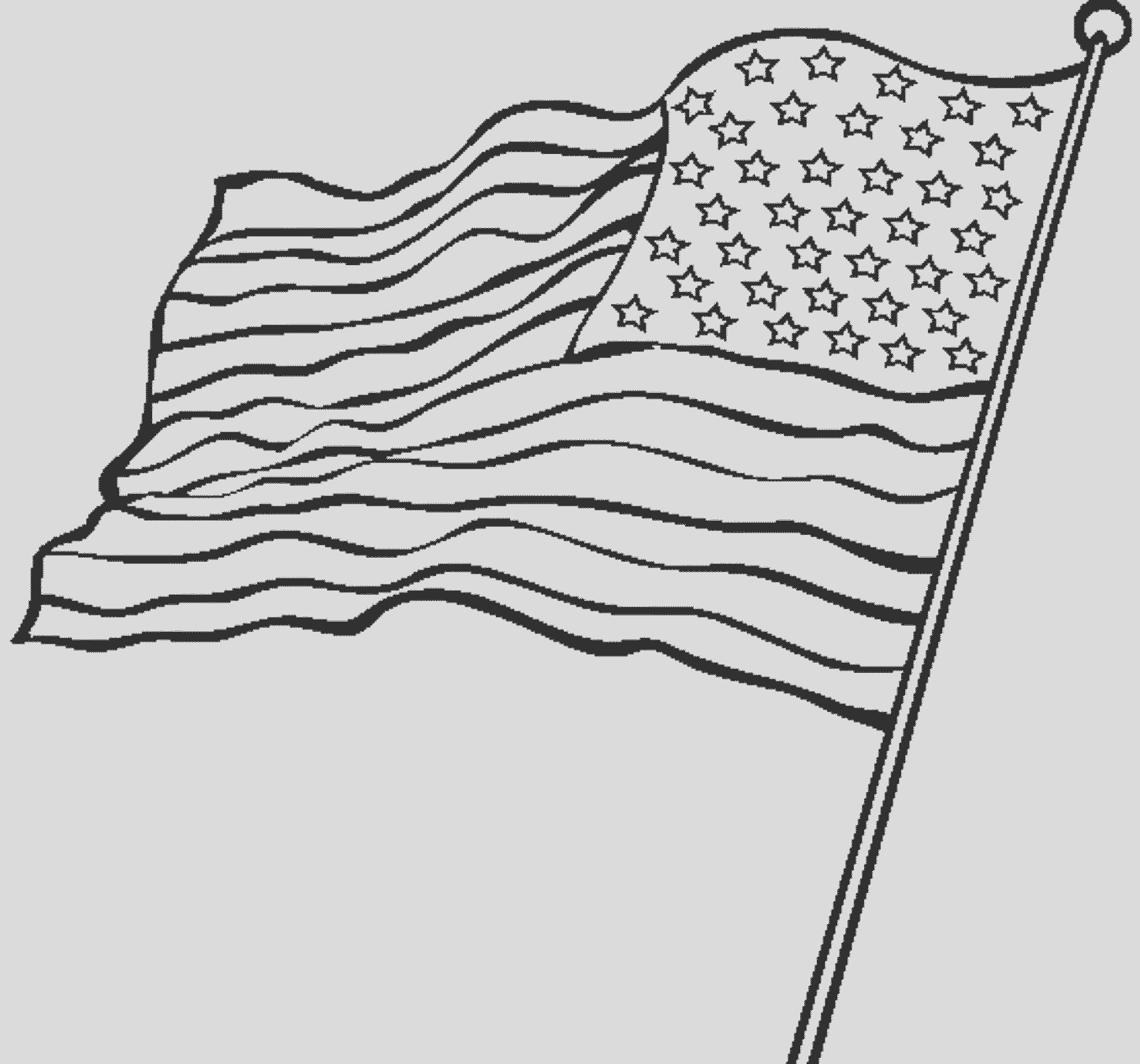 american flag coloring page love country