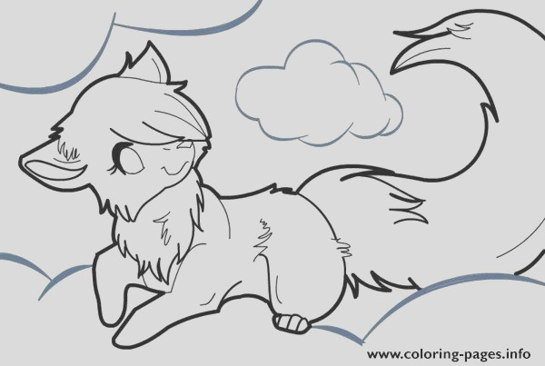 anime wolf printable coloring pages book 9467