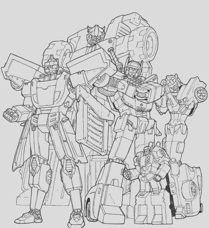 tf gn autobot cast lineart