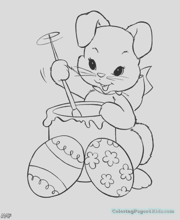 cute baby bunnies coloring pages 109