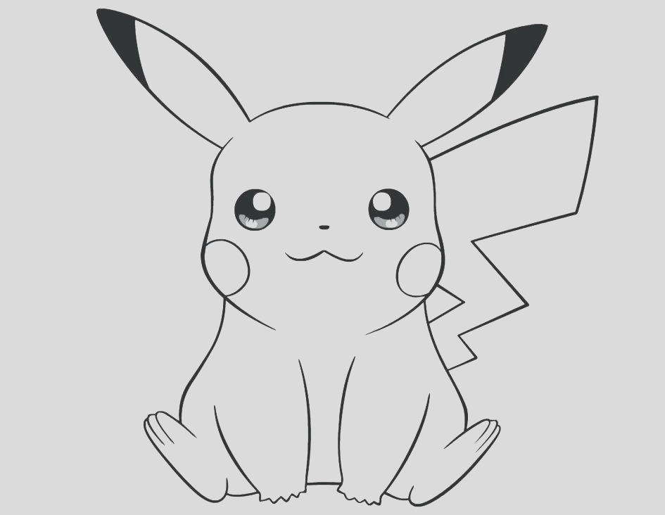 pikachu drawing pictures