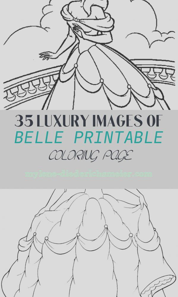 Belle Printable Coloring Page Awesome Free Printable Belle Coloring Pages for Kids