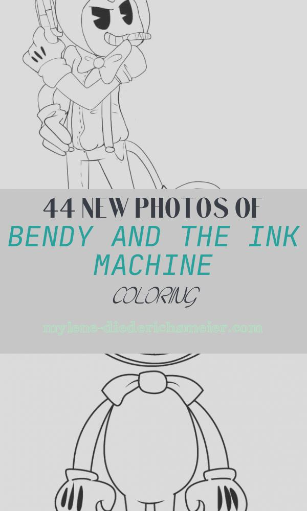 Bendy and the Ink Machine Coloring Best Of Free Printable Bendy and the Ink Machine Coloring Pages