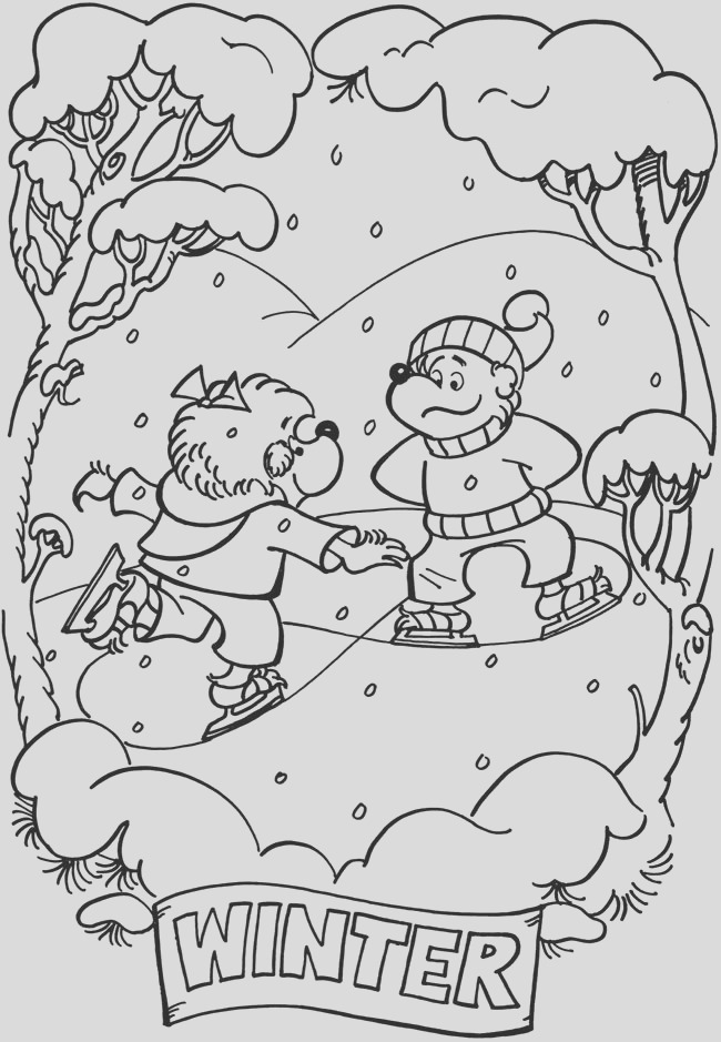 coloring pages berenstain bears