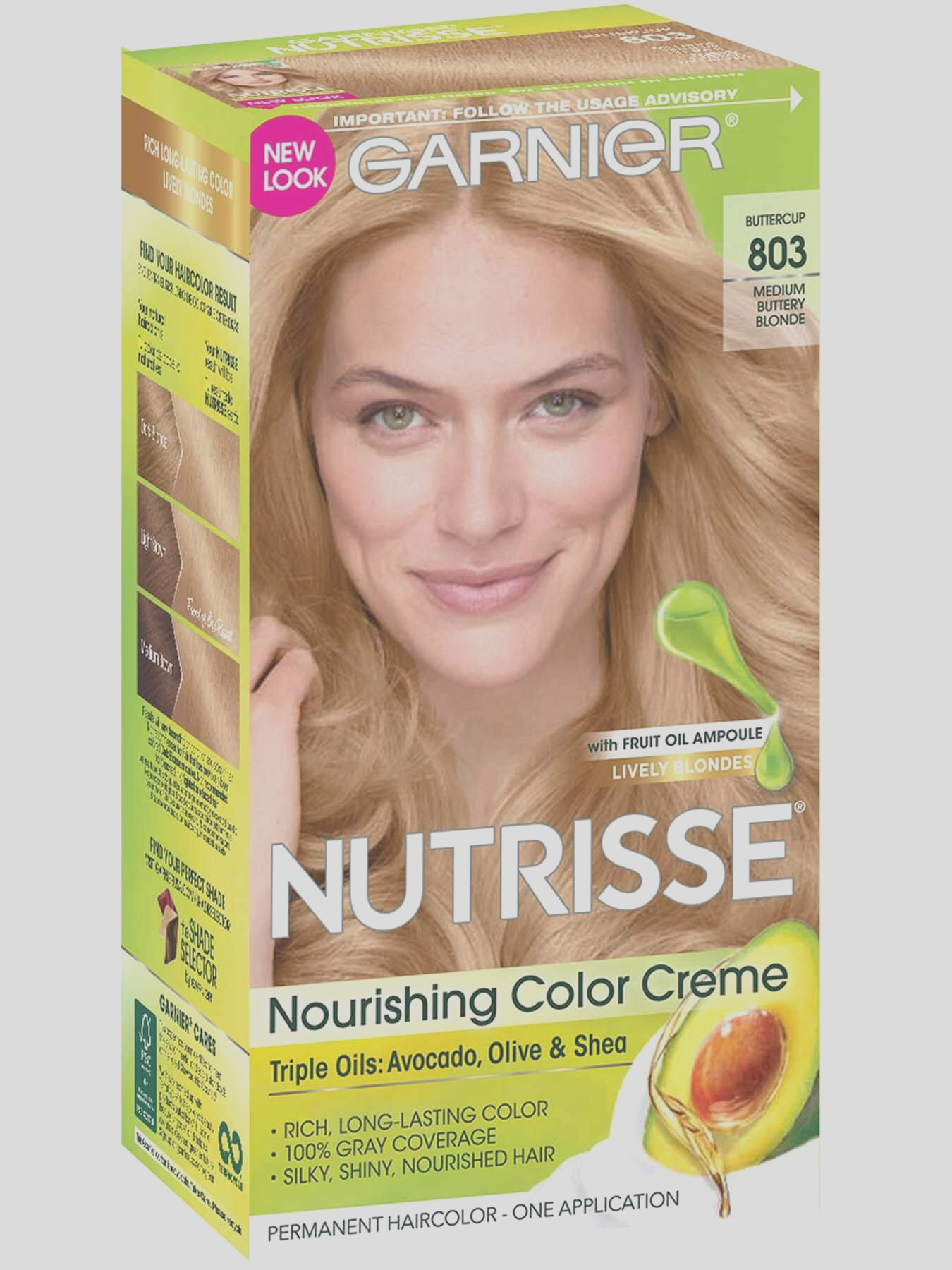 nourishing color creme 803 medium buttery blonde