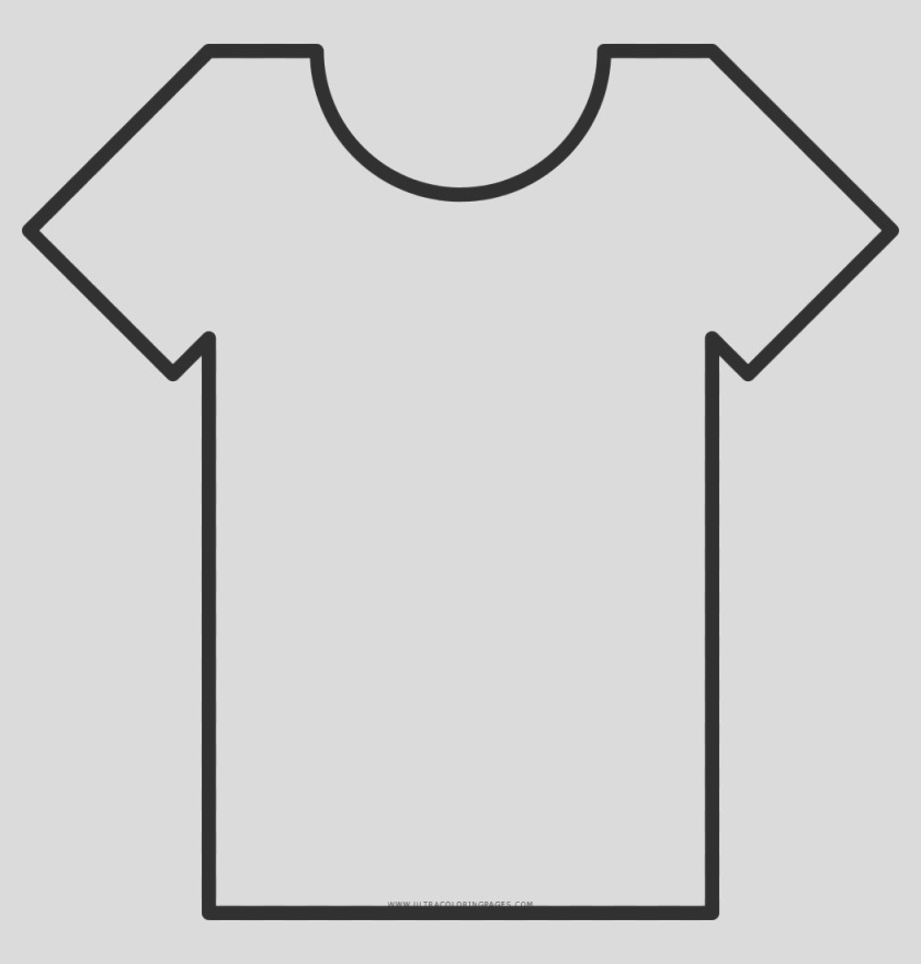 blank t shirt page sketch templates