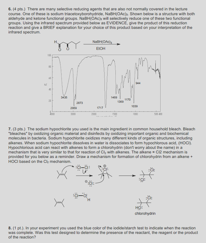 investigating oxidation reactions 7 draw mechanism formation chlorohydrin alkene hocl bas q