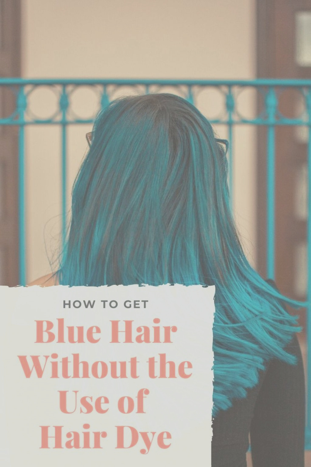 How to dye your hair blue naturally at home