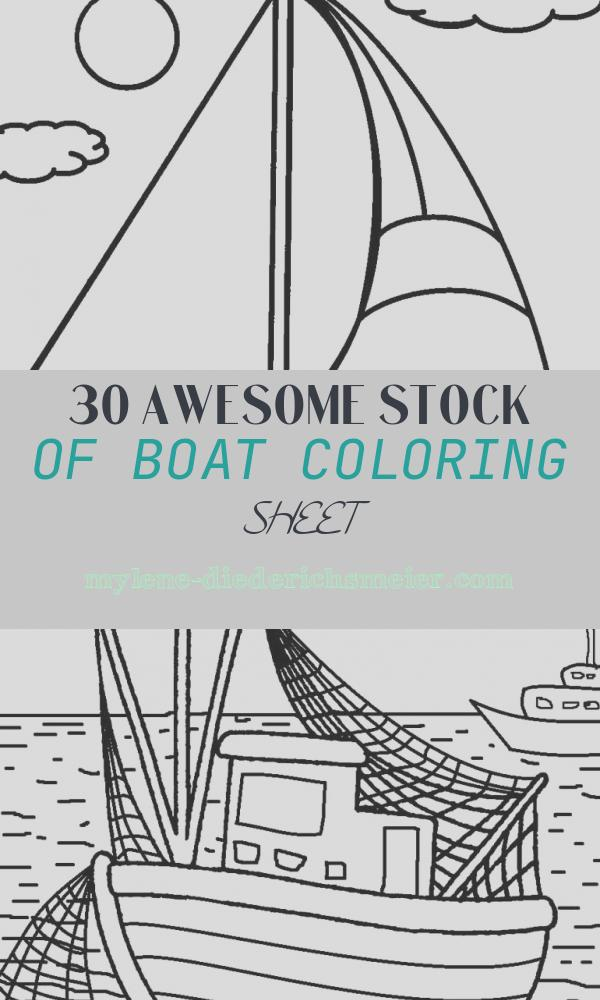 Boat Coloring Sheet New Printable Boat Coloring Pages for Kids
