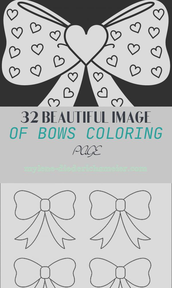 Bows Coloring Page New 35 Free Printable Heart Coloring Pages