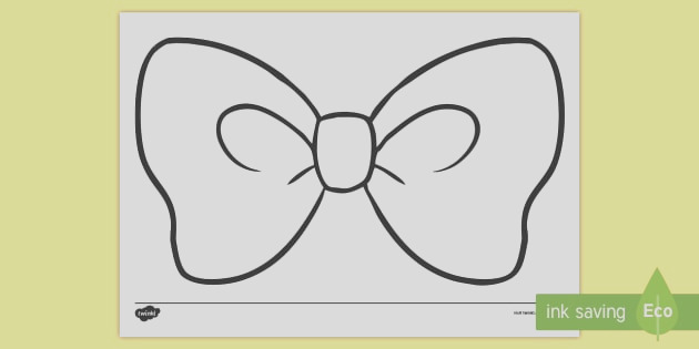 t c hair bow colouring page