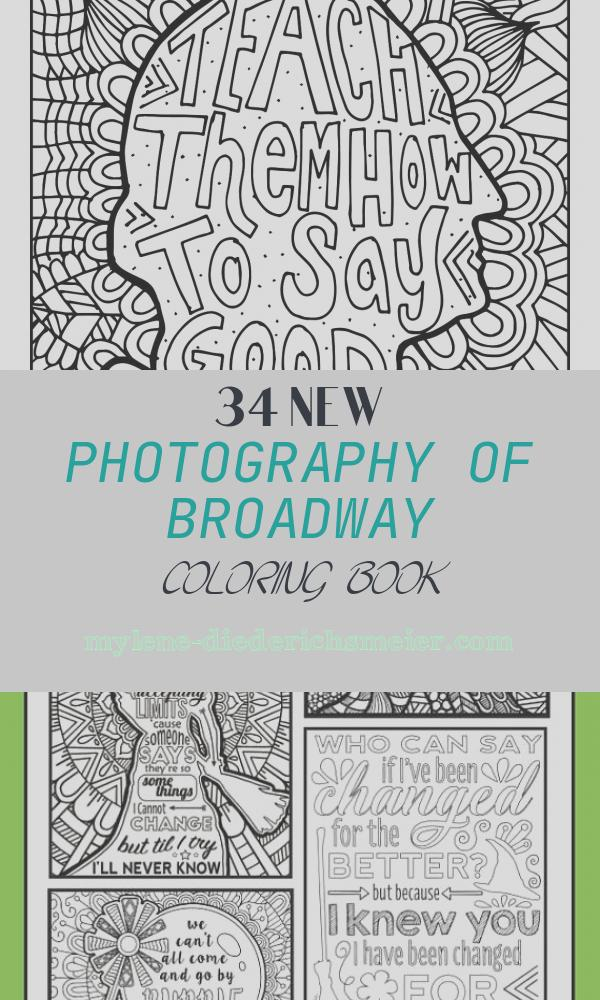 Broadway Coloring Book Inspirational Coloring Broadway Hamilton How to Say Goodbye Note Card