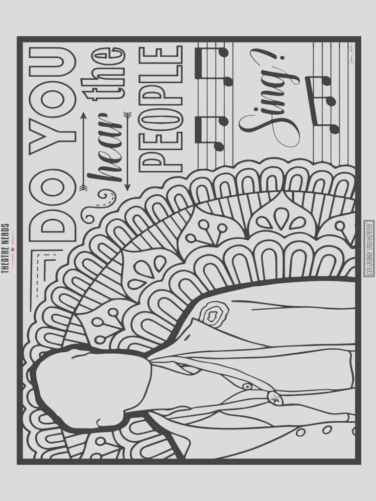 broadway coloring pages sketch templates