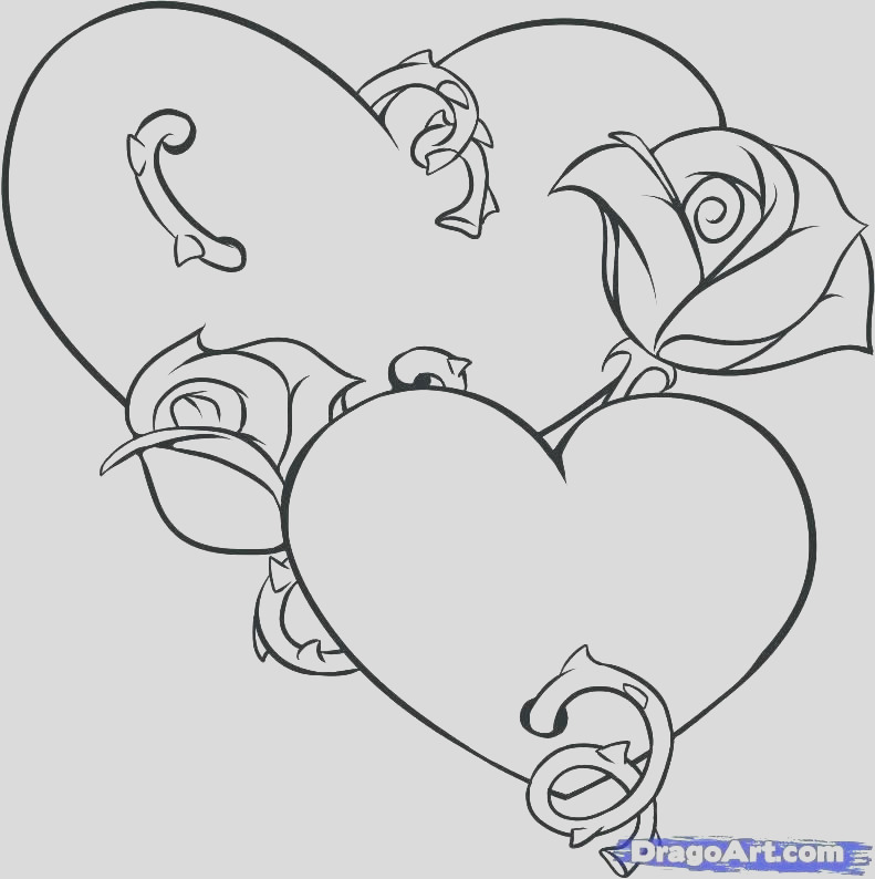 broken heart coloring pages to print