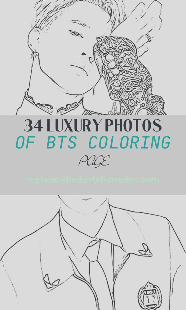 Bts Coloring Page Awesome Bts Coloring Pages