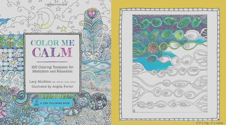colour me calm $9 100 templates for meditation $4 relaxation adult colouring book