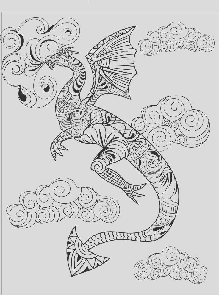 creatively calm coloring pages