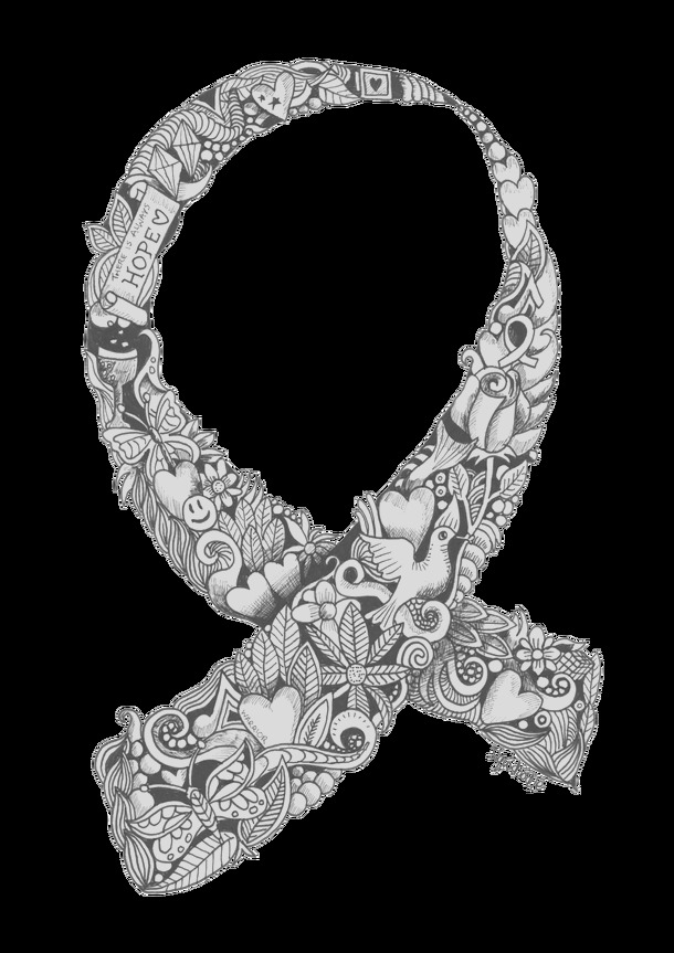 breast cancer awareness month 2016 coloring page