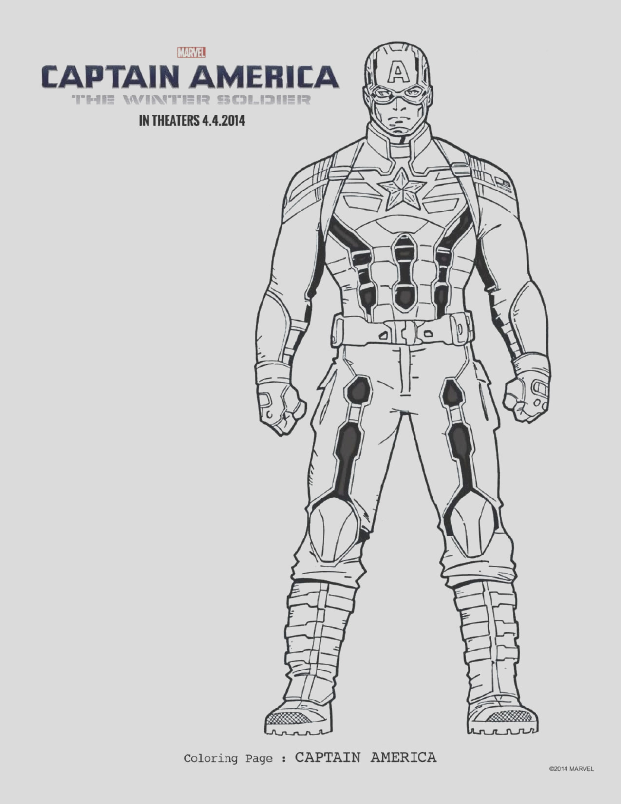 free captain america 2 coloring pages printables here