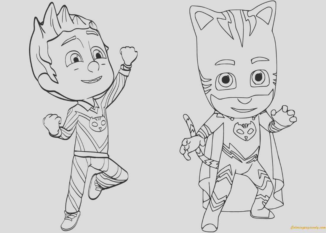 pajama hero connor is catboy from pj masks