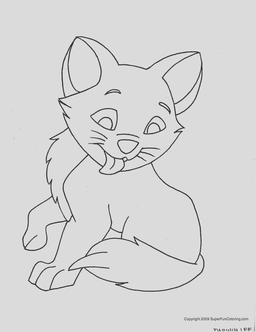 male kitten coloring pages for boys