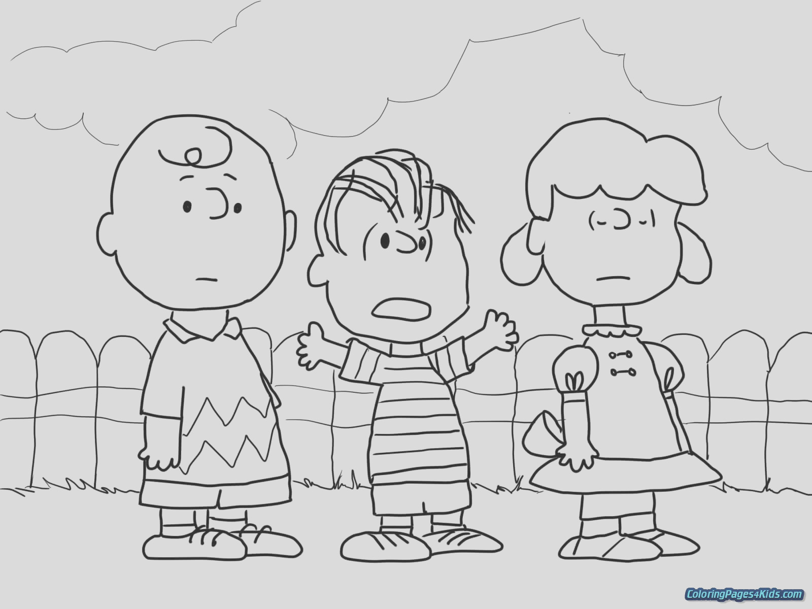 charlie brown coloring pages 30