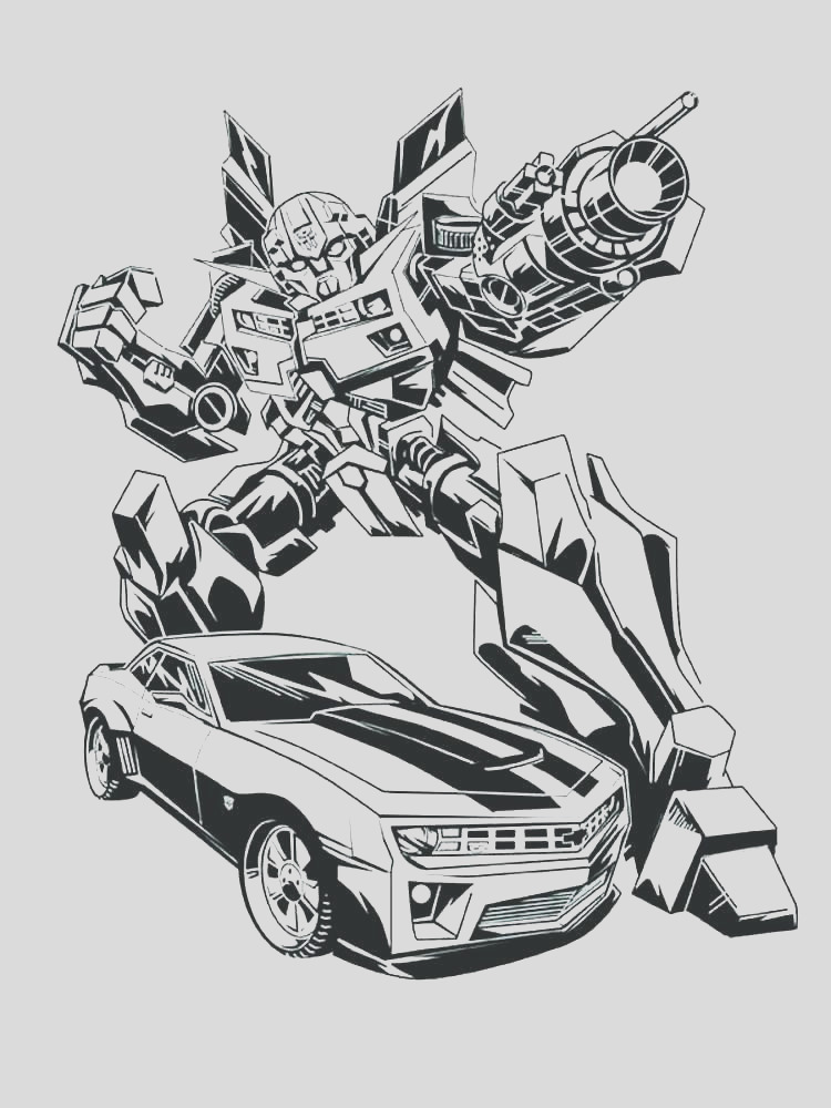 chevrolet camaro coloring pages