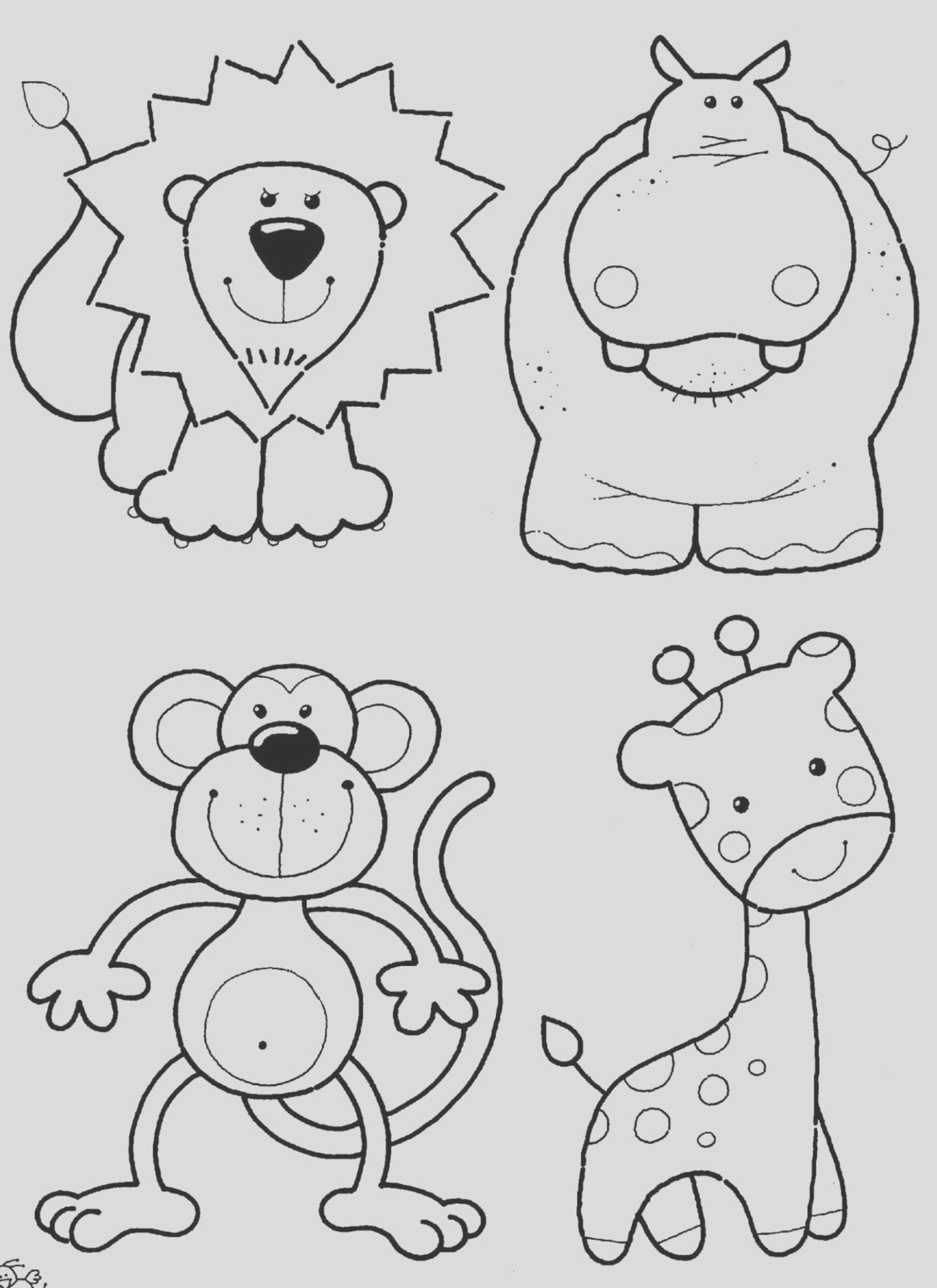 animal coloring pages 14
