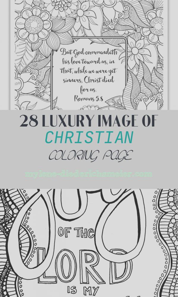 Christian Coloring Page Elegant Free Christian Coloring Pages for Adults Roundup