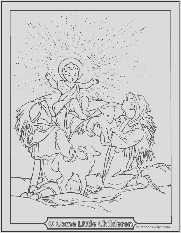 printable christmas coloring pages