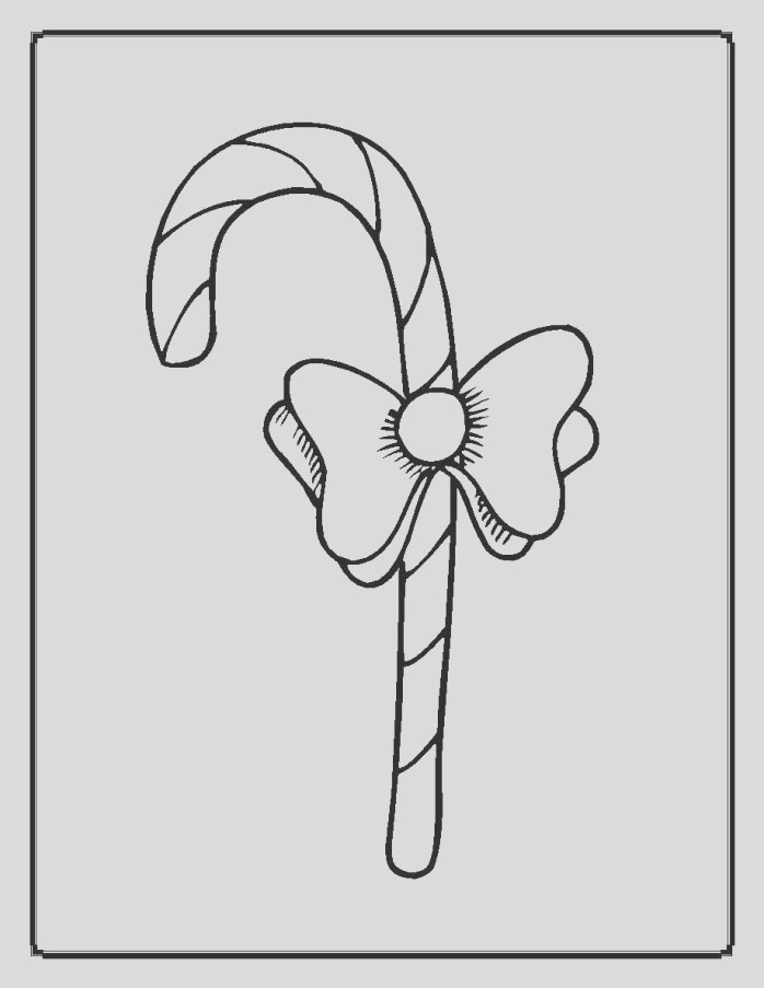 christmas light bulb coloring page 10